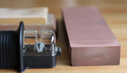 包丁を研ぐ砥石とシャープナー。切れ味の戻る原理の違い。