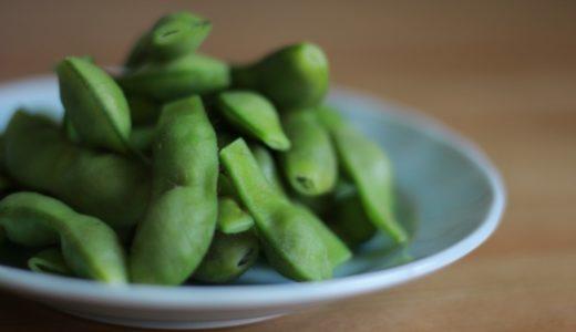 枝豆が水から茹でられない理由。鮮やかな色彩とレシピの再現性。