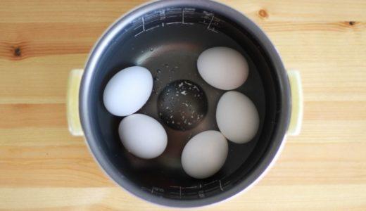 炊飯器の保温でつくる温泉卵。理想的な温泉卵にならない理由。