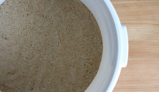 糠床の水分量。多すぎても少なすぎても糠漬けの味に影響する理由。