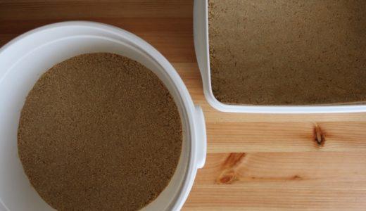 おすすめの糠床(糠漬け)容器。丸型容器を選ぶべき理由。