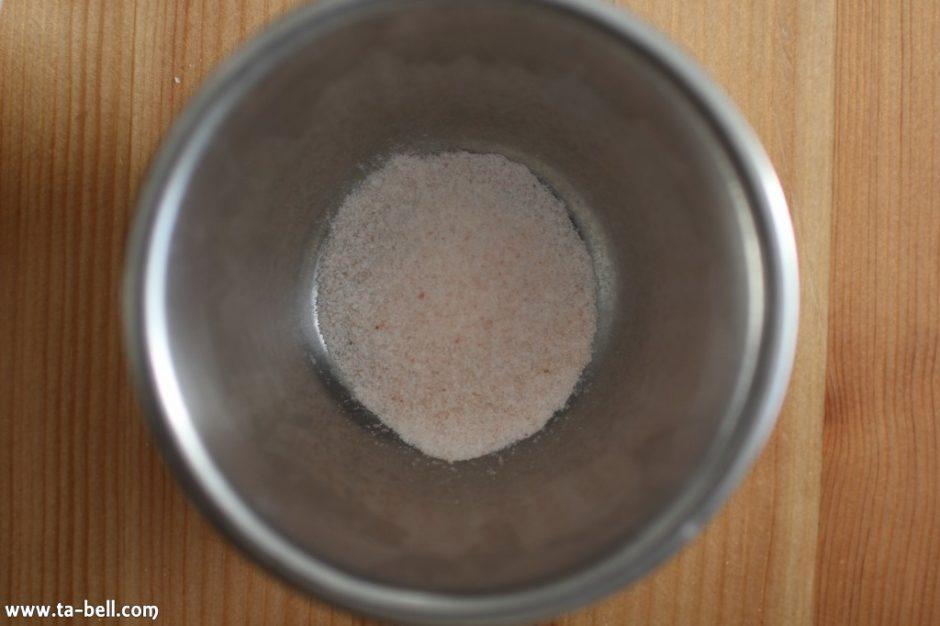 パン作りの食塩